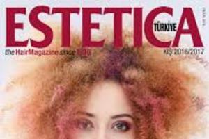 okładkowe publikacje w magazynach  ESTETICA